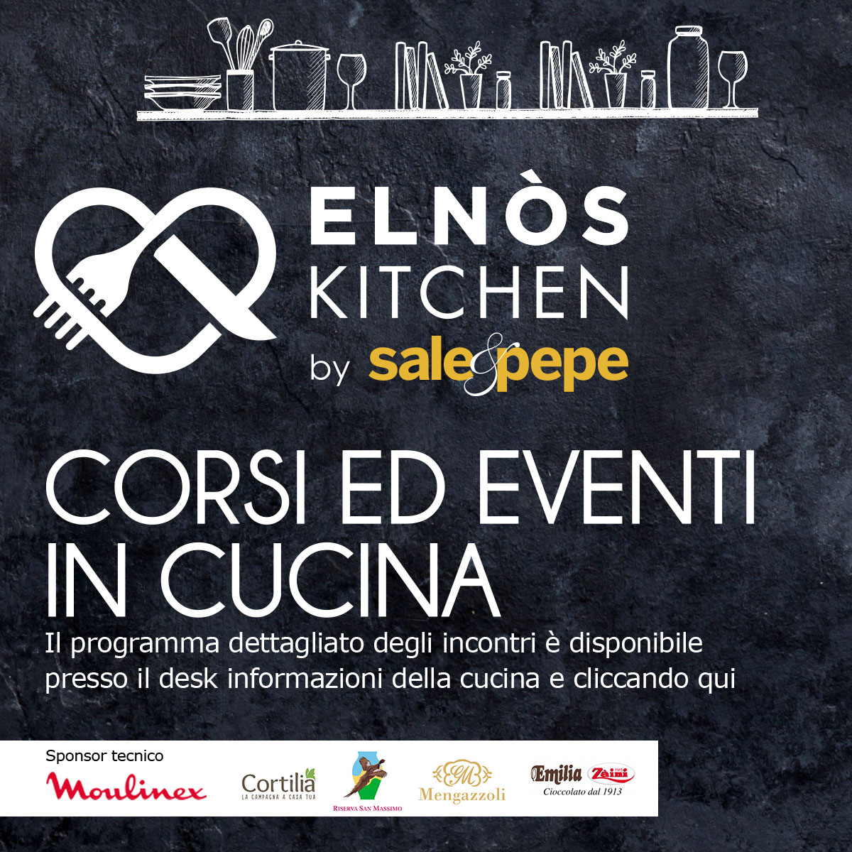 elnòs kitchen by sale & pepe